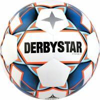 Derbystar Fußball Stratos TT weiß blau orange