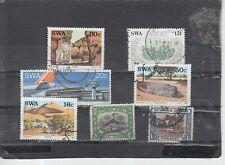 Schönes Lot Briefmarken aus Südwest Afrika gestempelt