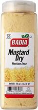 Badia Mustard dry - Mostaza seca molida  16 oz