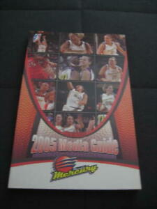 Phoenix Mercury 2005 Official WNBA Media Guide-NEW