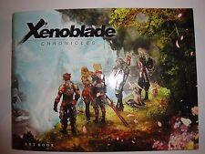 BRAND NEW Xenoblade Chronicles Artbook Preorder Bonus Rare Gamestop Art Book