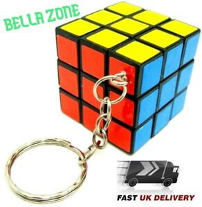 Cube Keyring Toys 3cm Popular Mini Keychain Puzzle Magic Game SaLe!!