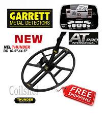 "New !!!  NEL THUNDER 14.5""x10.5"" DD search coil for Garrett ATPro + cover+bolt"