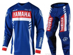 Motocross Jersey And Pants YAMAHA Racing Xtreme Sport Off Road Clothing Gear Set