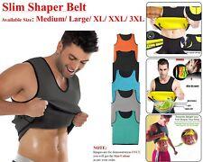 Slim Shaper Neoprene Belt Men Slimming Belly Waist Trainer Vest Sport Body Sweat