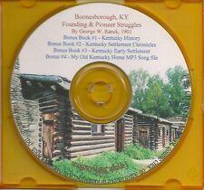 Boonesboro KY Founding and Pioneer Struggles