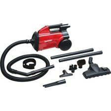 Electrolux Sanitaire SC3683B 10 lb Commercial Compact Canister Vacuum, Red