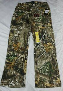 Realtree Edge Camouflage Men's 5 Pocket Pants Flex Fabric Small 28-30 W x 31.5