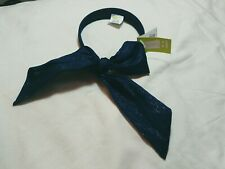 Crazy 8 Baby Girls Glittery Blue Hair Bow Headband One Size
