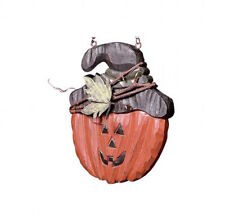 Jack O Lantern with Twig Wrapped Hat Replacement ArrowHanger#B2500