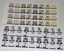 Custom 68 stickers german soldiers  WW2 GERMAN AK & WINTER - SIZE - lego torso