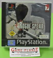 Rainbow Six Rogue Spear OVP Sony Playstation 1 P1 PSX Pone NEU in Folie NEW BOX