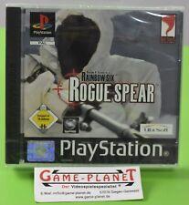 Rainbow Six Rogue Spear OVP Sony Playstation 1 P1 PSX Pone NEU in Folie NEW BOX