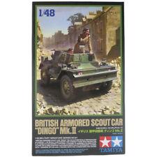 Tamiya Dingo Mk.II British Armored Scout Car Model Kit - Scale 1:48 - 32581
