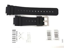 CASIO WATCH BAND: 10410406  BAND FOR DW5600 Black Resin Band