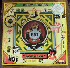DIRTY FENCES Goodbye Love LP SEALED color vinyl power-pop w/download Greenway