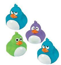 Set of 4 Crazy Eyes Rubber Ducks Duckys Duckies #13616078 Favor Random Colors