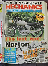 Classic & Motorcycle Mechanics Magazine. No. 70, August 1993. Last 'real' Norton