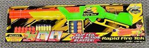 Buzz Bee Toys Air Warriors Rapid Fire Tek Clip Fed Lever Action Toy Gun