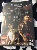 Resident Evil 0 (GameCube) No Manual