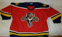 VINTAGE NHL Starter Florida Panthers Red/Home Hockey Jersey - Adult Size XL