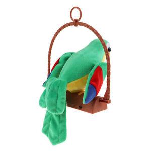 Verde di regalo per bambini di Toy Kids Toy pappagallo parlante di peluche