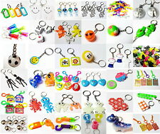 Key Chain Party Bag Gifts Fillers Birthday Pinata Cake Decoration Favour Loot