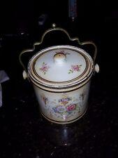 Vintage Biscuit Jar. Beautiful. Must See. Crown Devon. England