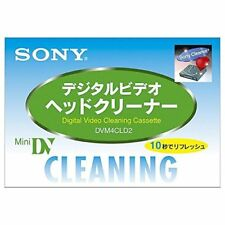 SONY Japan Mini DV DVC Video Head Cleaning Cassette DVM4CLD2