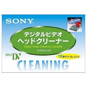 SONY Japan Mini DV DVC Video Head Cleaning Cassette DVM4CLD2