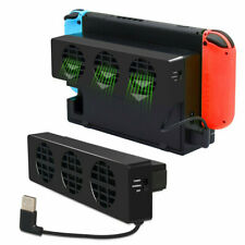 Cooling Fan 3 Senstive USB External Power Supply for Nintendo Switch NS Console