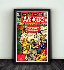 11x17 Avengers #1 Comic Book Cover Replica Poster Print Marvel Hulk Iron Man