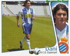 DANI ESPANA RCD.ESPANYOL CROMO STICKER LIGA ESTE 2005 PANINI