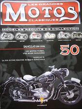 FASCICULE 50 MOTOS CLASSIQUES SANGLAS 350 1950  MOTORCYCLE MOTORRAD