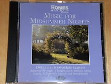 CLASSICAL CD - MUSIC FOR MIDSUMMER NIGHTS (2000)