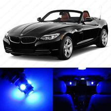 9 x Error Free Blue LED Interior Light Package For 2009 - 2013 BMW Z4 E89