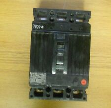 * General Electric 3 Pole 30 Amp Ted136030 Circuit Breaker (Chip) . Vc-113A