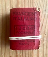 DIZIONARIO MIGNON FRANCESE/ITALIANO 13000 vocaboli - Sta sul palmo della mano