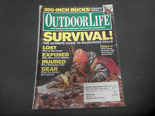 Outdoor Life Magazine March 2007 Survival! Ultimate Guide to Wilderness M3564
