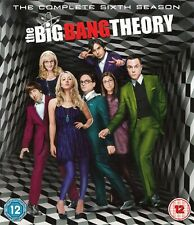 The Big Bang Theory Season / Series 6 - NEW All Regions Blu-Ray