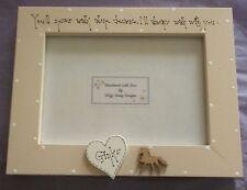"Bespoke Personalised pet horse bereavment photo Frame 7""x5"" gift keepsake"