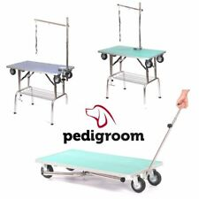 Dog Grooming Table With Arm & Noose by Pedigroom Portable Mobile Show Use