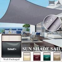 Sun Shade Sail Outdoor Patio Pool Lawn Top Canopy Patio Triangle 98% UV Block