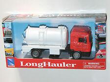 Newray - MAN F2000 Rigid Vacuum Tanker (Orange) Truck Lorry Model Scale 1:43