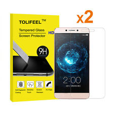 2Pcs 9H Crystal Clear Tempered Glass Screen Protector for Letv Le2 Pro X527 X620