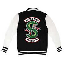 Felpa College Jacket Riverdale Serpents Southside Jughead Jones Bomber Shirts