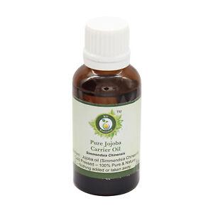 Pure Jojoba Oil Simmondsia Chinensis Cold Pressed Uncut Natural Unrefined