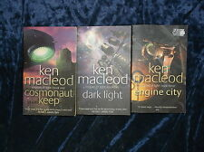 THE COMPLETE ' ENGINES OF LIGHT ' TRILOGY by KEN MACLEOD P/B  * £3.25 UK POST *