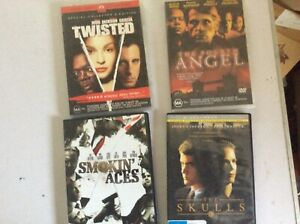 4 DVD MOVIES.ACTION DRAMA LOT 1