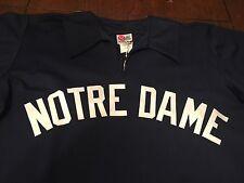 Notre Dame Game Used Worn Throwback Baseball Jersey #46 Fighting Irish Black